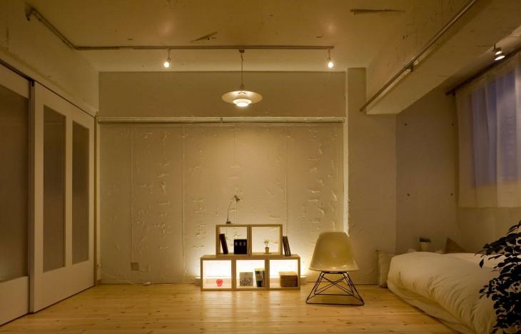 【名古屋市中村区】日当たり抜群の南向きリビング コンクリートの質感を活かした大人のお部屋