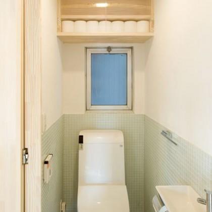 トイレのデザインタイルは一考に値する