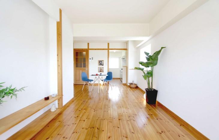 【名古屋市中川区】3方向角部屋でナチュラルカントリーな明るいお部屋