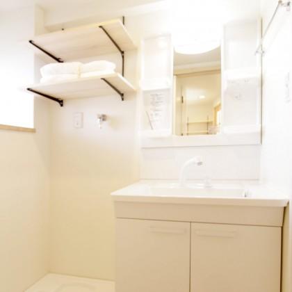収納が少ない賃貸アパートマンションの洗面所を使いやすくするリフォーム術